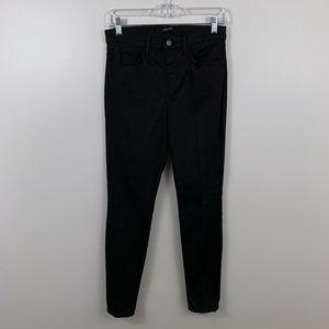 J Brand Black Maria High Rise Skinny Jeans / Pants